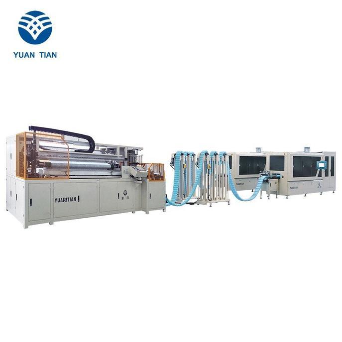 DT + DX-012 Línea de producción automática de muelles de bolsillo