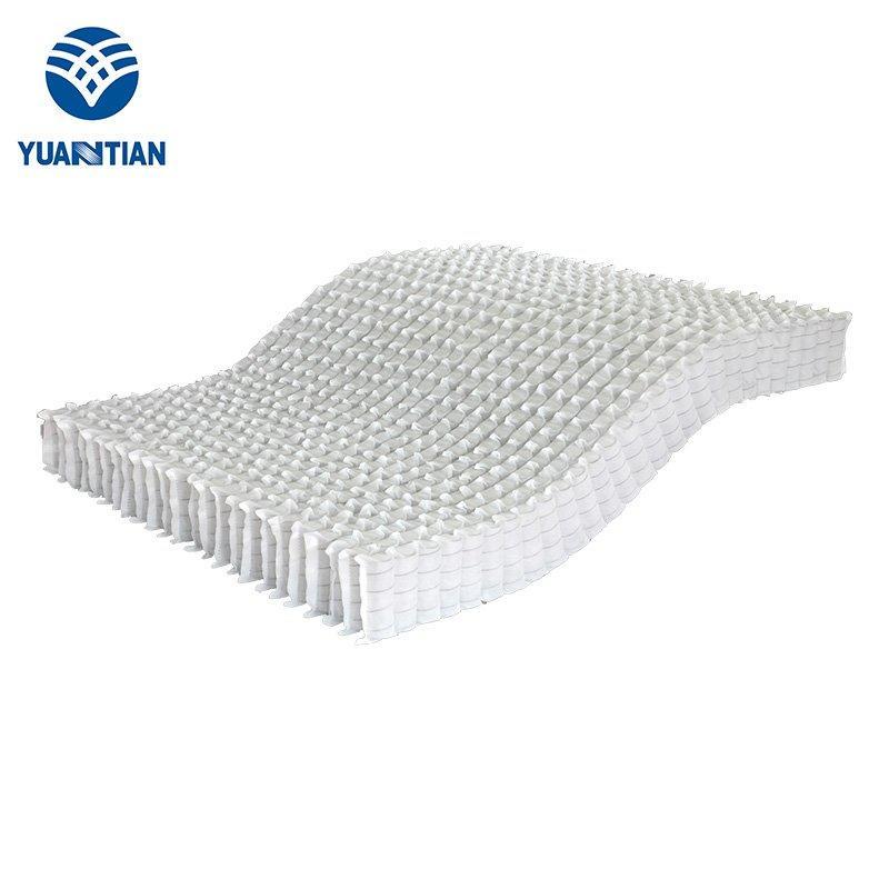 蜂窝式袋装床网