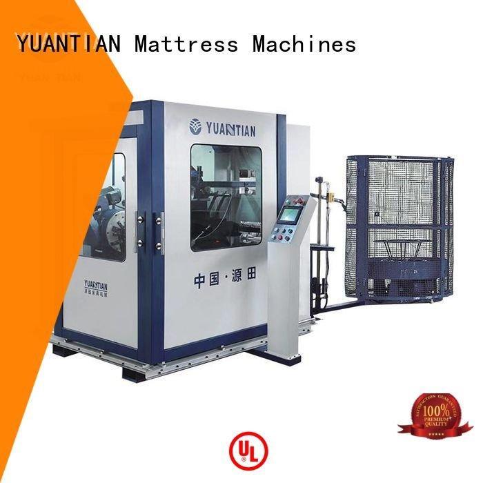 YUANTIAN Mattress Machines Automatic Bonnell Spring Coiling Machine bonnell unit automatic coiler