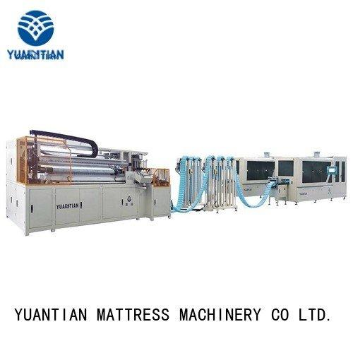 Hot spring coiling machine machine line pocketspring YUANTIAN Mattress Machines Brand