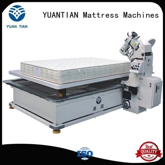 WPG-2000 Mattress Tape Edge Machine