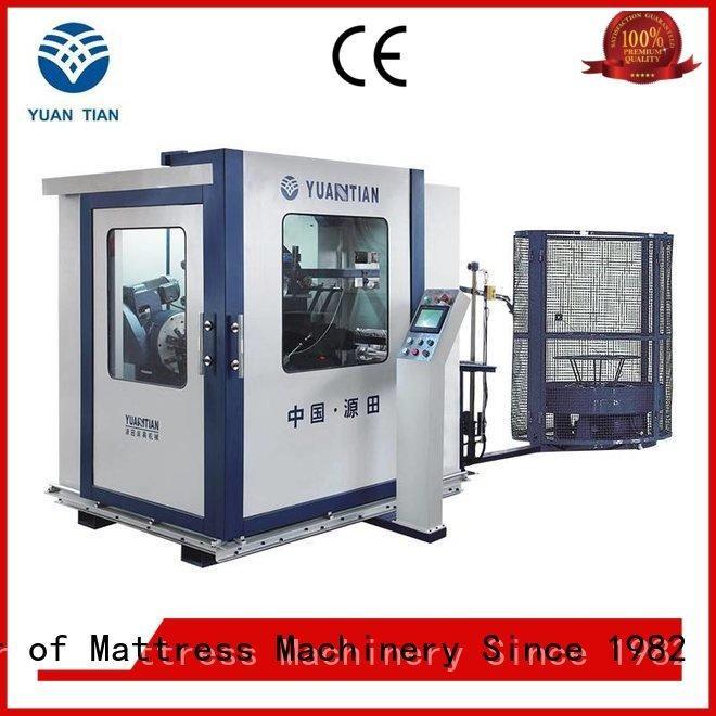 Wholesale bonnell bonnell spring machine YUANTIAN Mattress Machines Brand