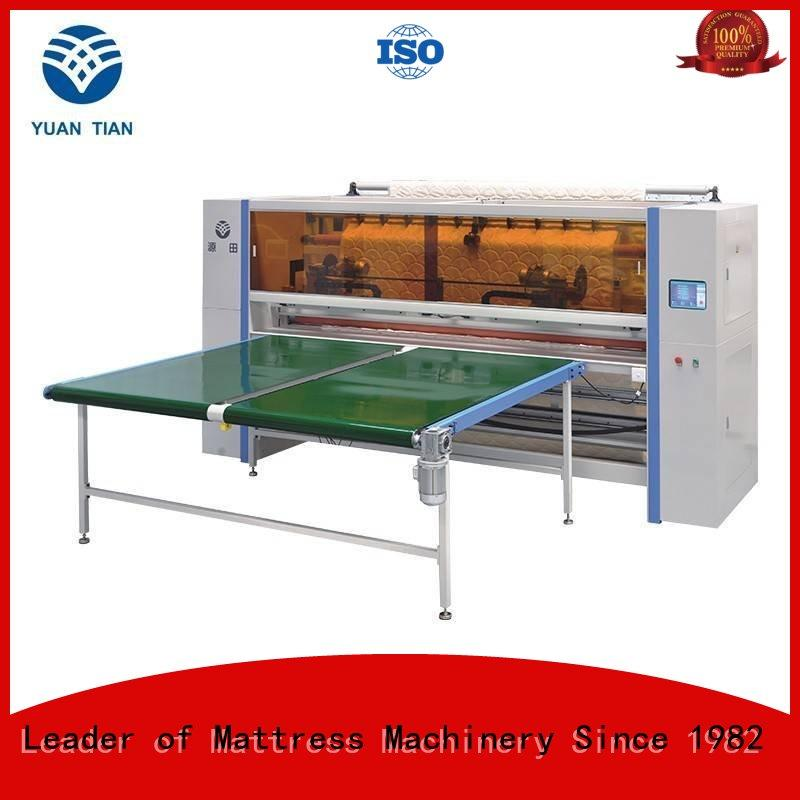 easy-to-use Mattress Cutting Machine Supplier factory workshop  YUANTIAN Mattress Machines