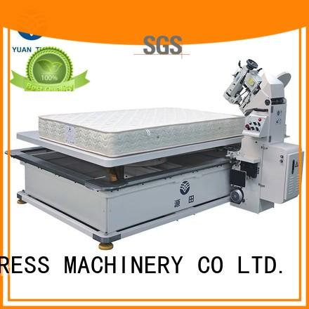 Quality YUANTIAN Mattress Machines Brand edge table mattress tape edge machine