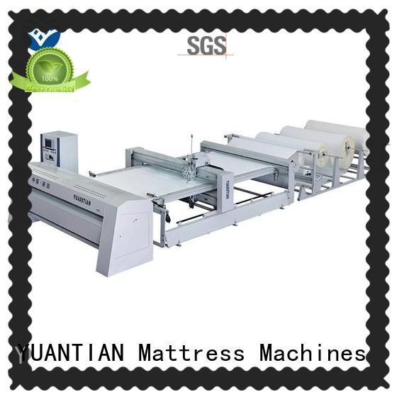 YUANTIAN Mattress Machines high Mattress Quilting Machine supply workshop