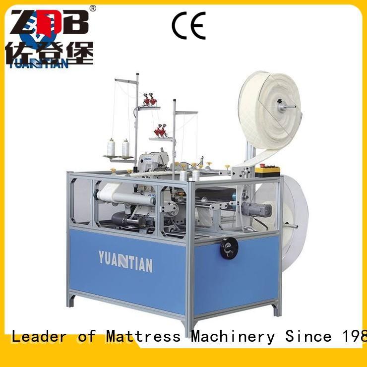 YUANTIAN Mattress Machines scientific flanging machine china bulk production factory