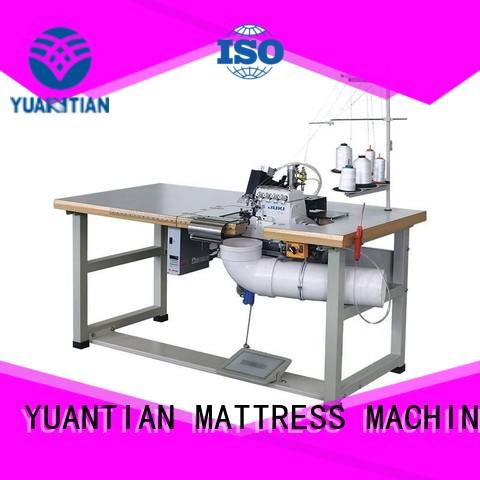 multifunction flanging Double Sewing Heads Flanging Machine mattress YUANTIAN Mattress Machines company