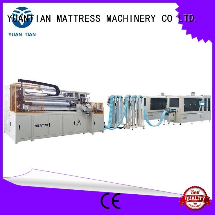 YUANTIAN Mattress Machines useful Automatic High Speed Pocket Spring Machine check now factory