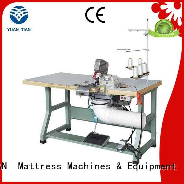 Wholesale double Double Sewing Heads Flanging Machine flanging YUANTIAN Mattress Machines Brand