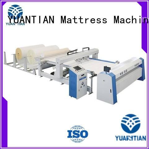 chain quilting machine for mattress price vendor workforce YUANTIAN Mattress Machines