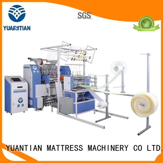 YUANTIAN Mattress Machines Brand double four quilting machine for mattress price stitching