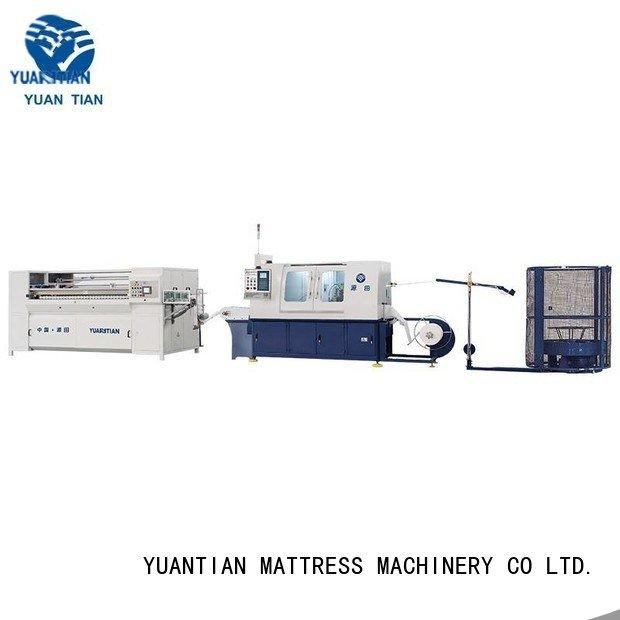 automatic spring coiling machine high dn6 machine spring YUANTIAN Mattress Machines