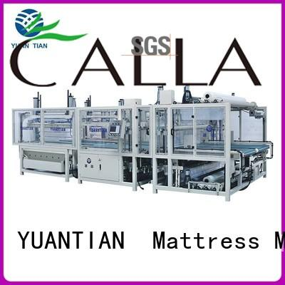 Hot mattress packing machine mattress YUANTIAN Mattress Machines Brand