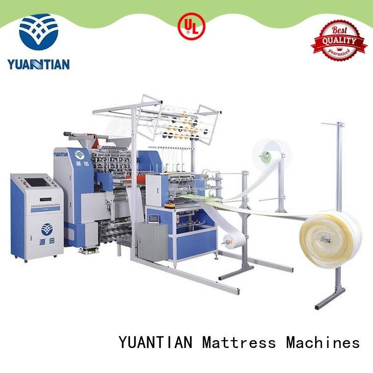 YUANTIAN Mattress Machines quilting machine for mattress producer workshop