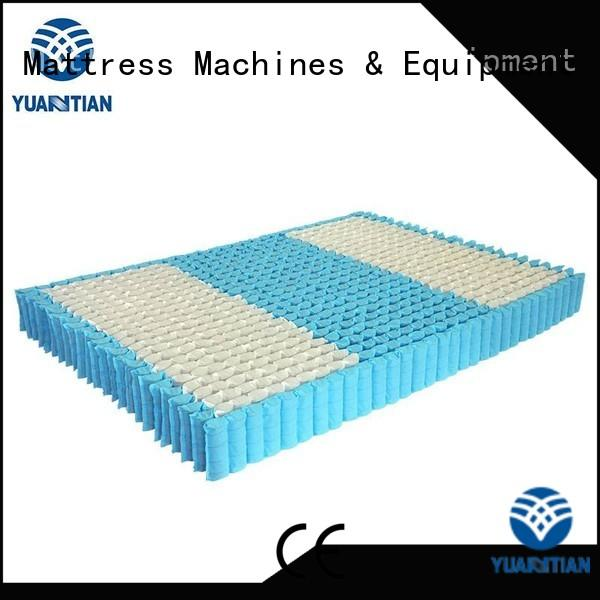 YUANTIAN Mattress Machines Brand top spring mattress spring unit nonwoven