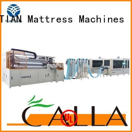 YUANTIAN Mattress Machines Automatic High Speed Pocket Spring Machine free design yuantian