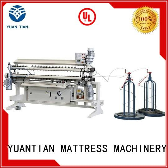 Bonnell Spring Assembly Machine workshop  YUANTIAN Mattress Machines