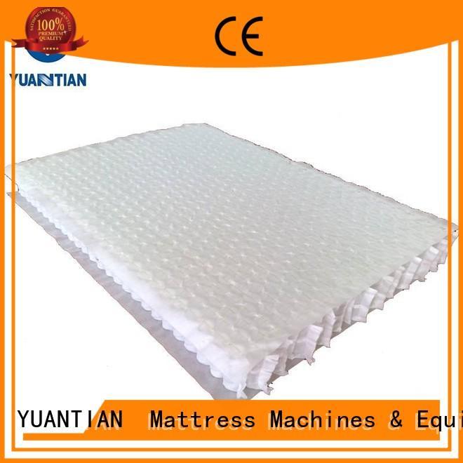 with nonwoven mattress spring unit bottom YUANTIAN Mattress Machines Brand company