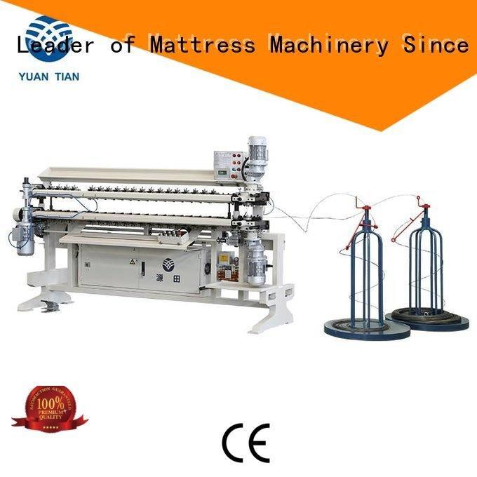 assembling bonnell spring unit machine spring YUANTIAN Mattress Machines