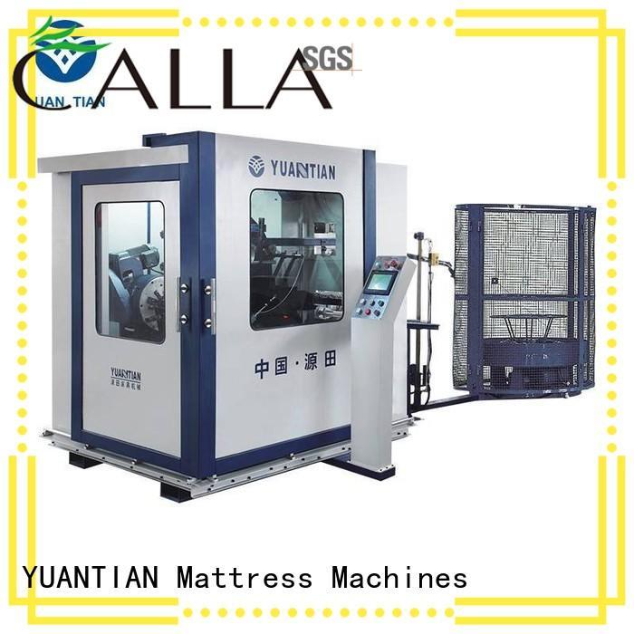 machine production bonnell spring machine YUANTIAN Mattress Machines manufacture