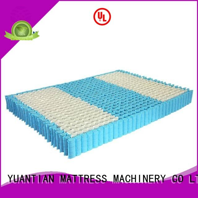 covers nonwoven nested OEM mattress spring unit YUANTIAN Mattress Machines