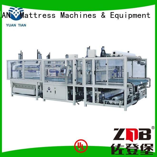 YUANTIAN Mattress Machines Brand automatic foam mattress making machine bending supplier