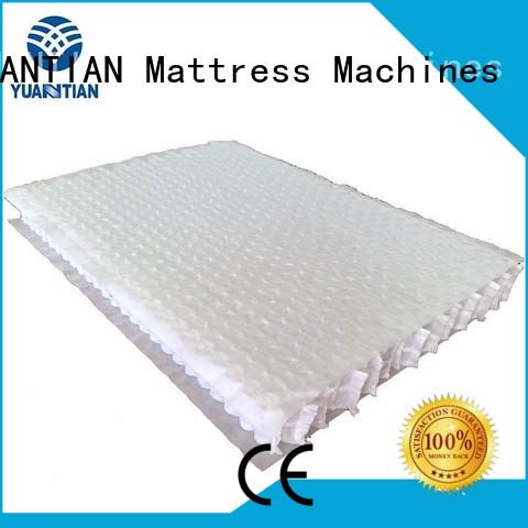 YUANTIAN Mattress Machines fine- quality pocket spring unit factory