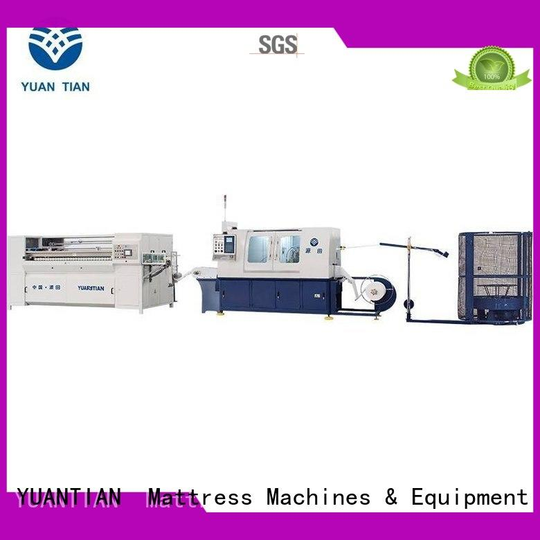 YUANTIAN Mattress Machines superior Automatic Pocket Spring Production Line order now workforce