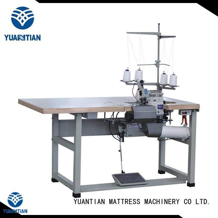 Double Sewing Heads Flanging Machine sewing Mattress Flanging Machine mattress YUANTIAN Mattress Machines