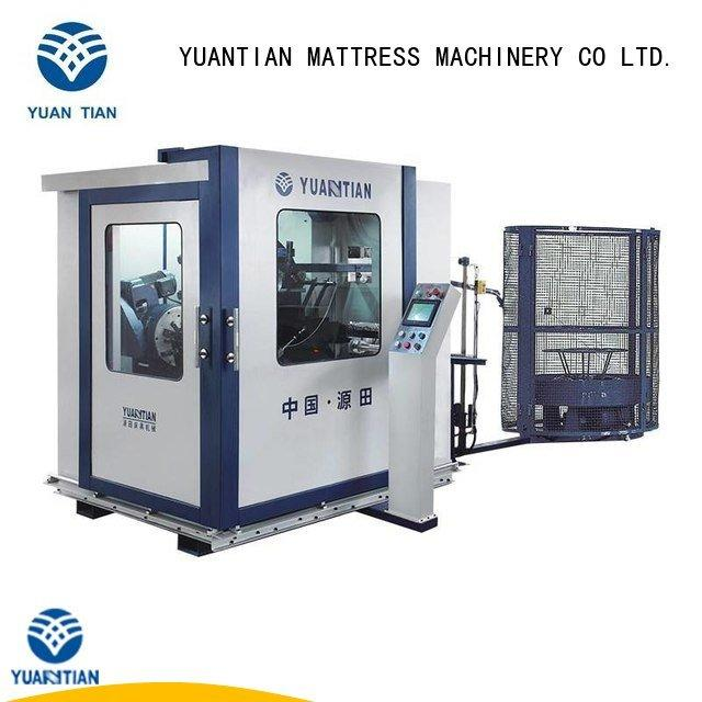 bonnell spring machine tx012 coiler Automatic Bonnell Spring Coiling Machine YUANTIAN Mattress Machines Warranty