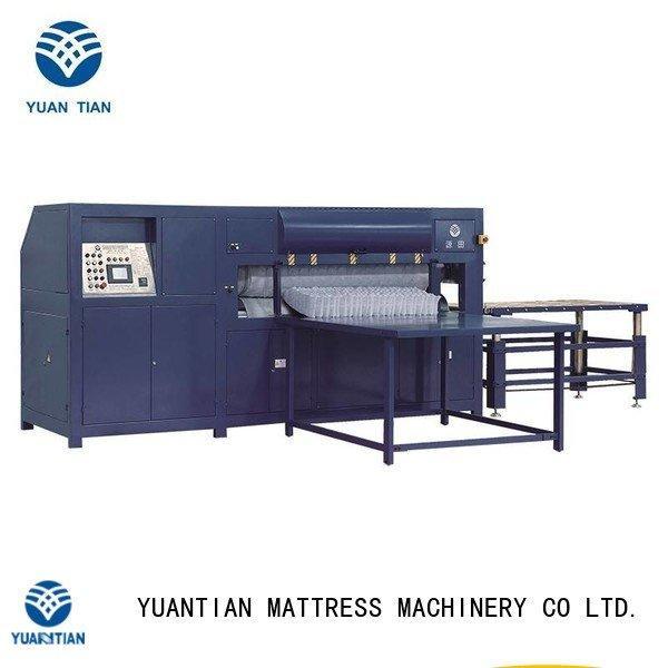 Quality foam mattress making machine YUANTIAN Mattress Machines Brand automatic mattress packing machine