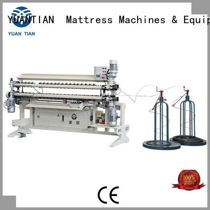 YUANTIAN Mattress Machines Brand machine assembling Bonnell Spring Assembly  Machine spring semiauto