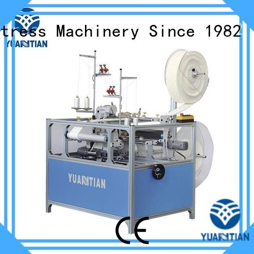 Double Sewing Heads Flanging Machine double flanging YUANTIAN Mattress Machines Brand