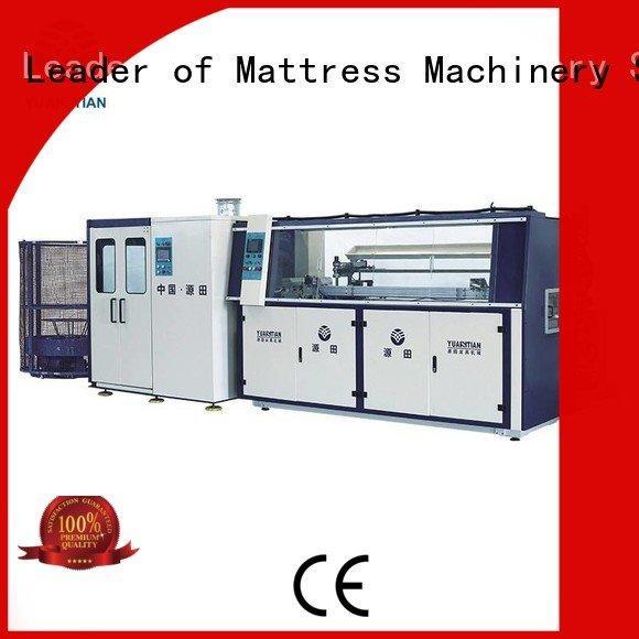 Hot bonnell spring machine machine Automatic Bonnell Spring Coiling Machine line YUANTIAN Mattress Machines