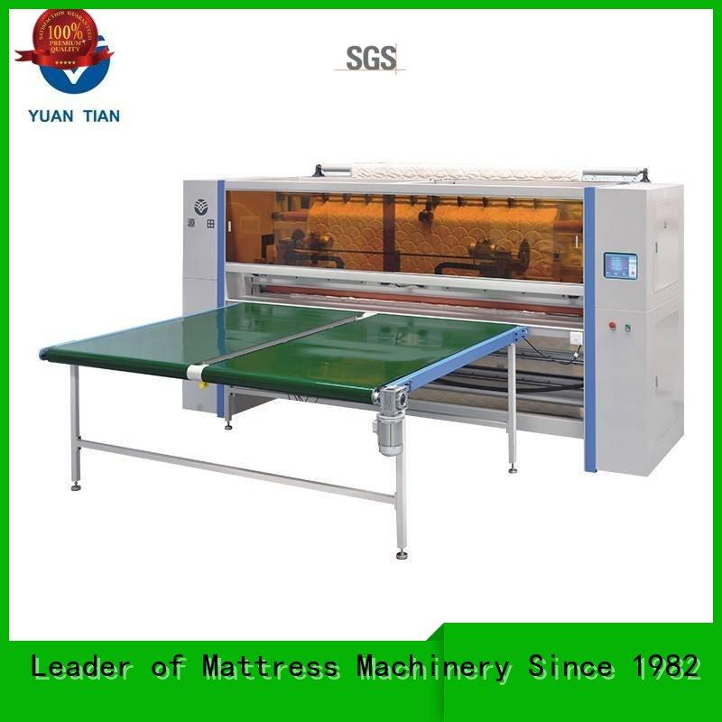 panel cutting machine for mattress factory faculty YUANTIAN Mattress Machines