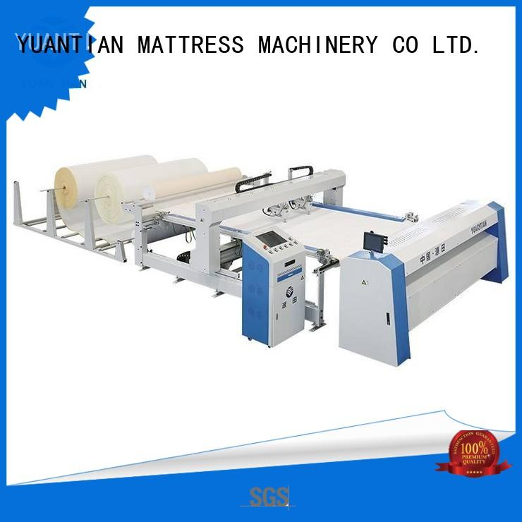 YUANTIAN Mattress Machines high quilting machine for mattress producer easy-operation