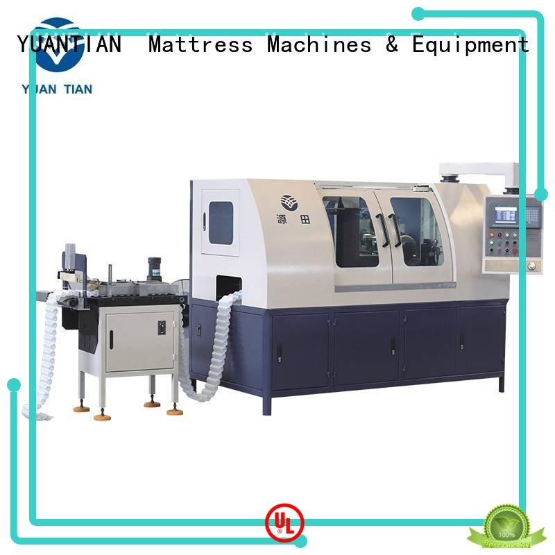 YUANTIAN Mattress Machines useful Automatic Pocket Spring Production Line for wholesale workshop