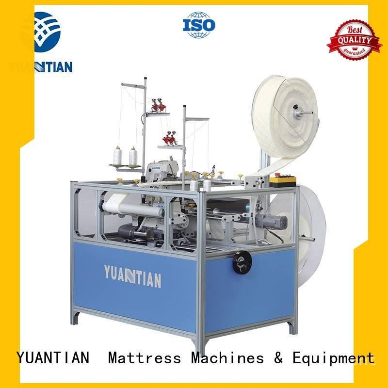 heads machine Mattress Flanging Machine mattress YUANTIAN Mattress Machines