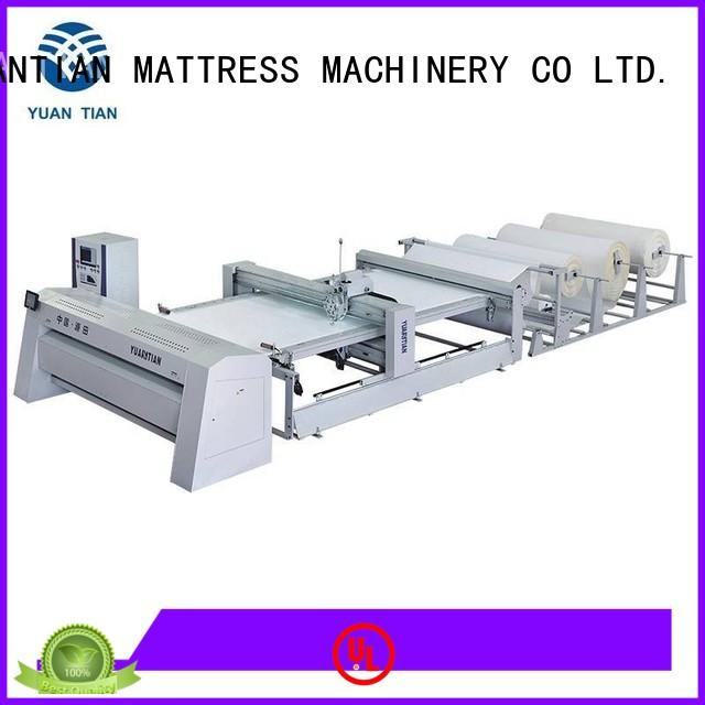 YUANTIAN Mattress Machines Brand lockstitch double quilting machine for mattress singleneedle factory