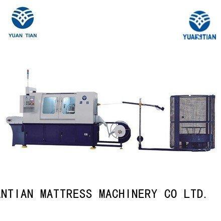Pocket spring coiling machine dzh3 production high pocketspring YUANTIAN Mattress Machines