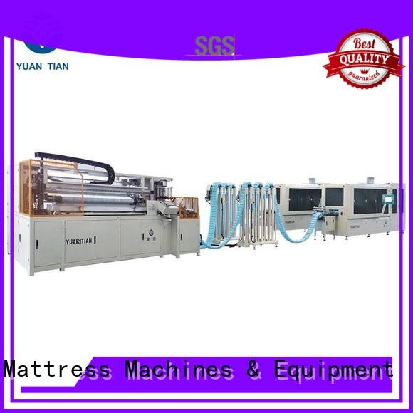 YUANTIAN Mattress Machines Automatic Pocket Spring Production Line from manufacturer yuantian