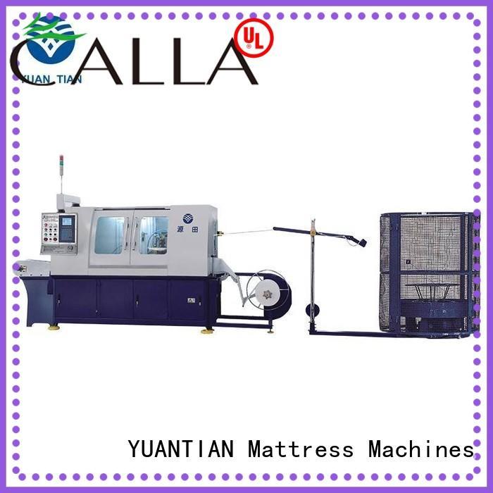 Automatic High Speed Pocket Spring Machine workforce YUANTIAN Mattress Machines