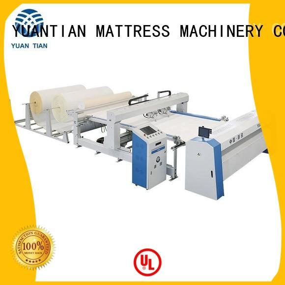 YUANTIAN Mattress Machines Brand side needle quilting quilting machine for mattress price border