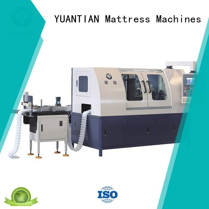 Automatic High Speed Pocket Spring Machine factory YUANTIAN Mattress Machines