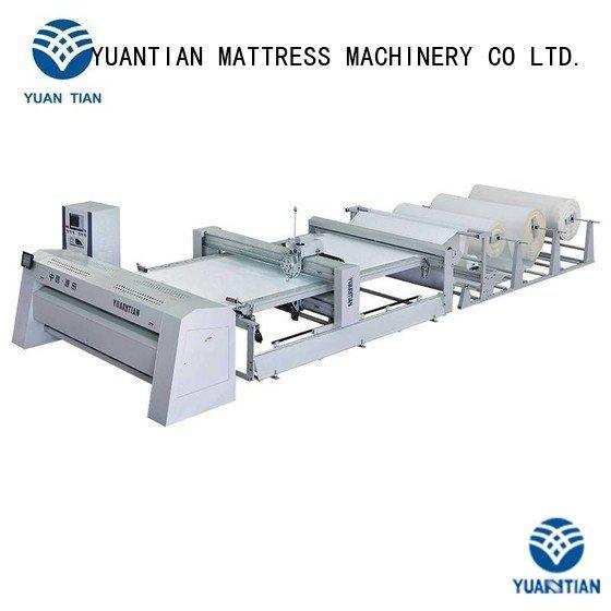 multi needle quilting machine four dzhf2h Mattress Quilting Machine YUANTIAN Mattress Machines Warranty