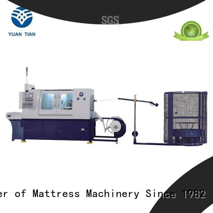 YUANTIAN Mattress Machines Automatic High Speed Pocket Spring Machine buy now easy-operation