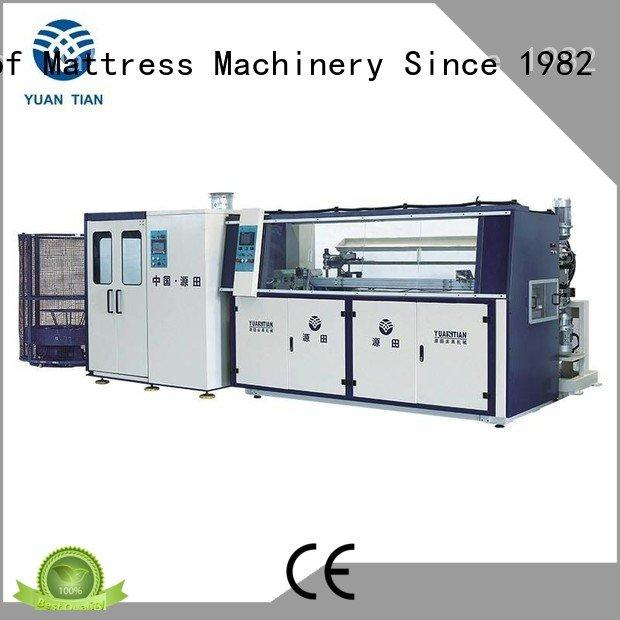 bonnell unit spring Quality bonnell spring machine YUANTIAN Mattress Machines Brand machine Automatic Bonnell Spring Coiling