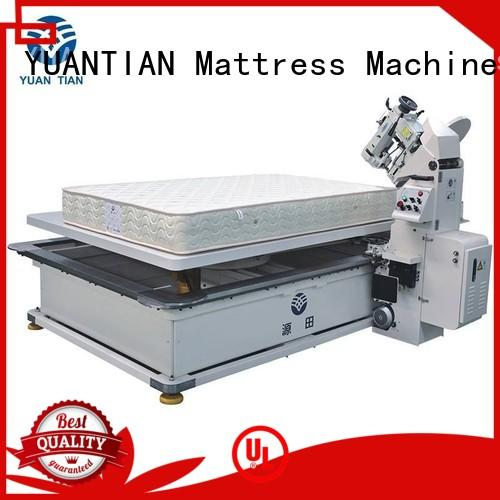 top machine mattress tape edge machine table YUANTIAN Mattress Machines Brand