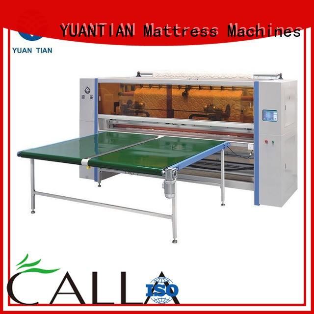 cutting Mattress Cutting Machine Supplier cutting Mattress Cutting Machine YUANTIAN Mattress Machines Brand panel mattress