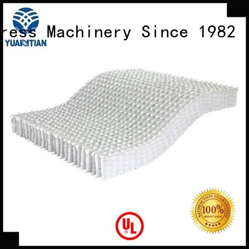 bottom zoned pocket mattress spring unit YUANTIAN Mattress Machines manufacture